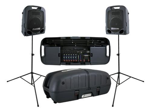 Sistema Portable Peavey Escort 3000 300w 7canales Sm