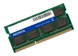 Memoria Ram Pc10600 Adata Ad3s1333w4g9-s Adata Memdat2080