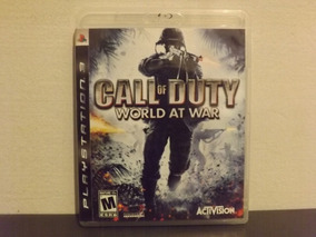 Ps3 Call Of Duty World At War - Completo - Aceito Trocas...