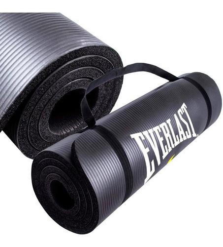 Colchoneta Everlast Yogamat Pilates Gimnasia 10mm - El Rey