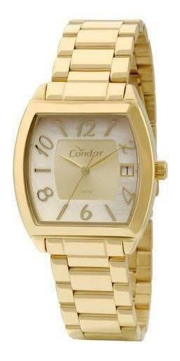 Relógio Feminino Condor Co2115tf/4x Dourado