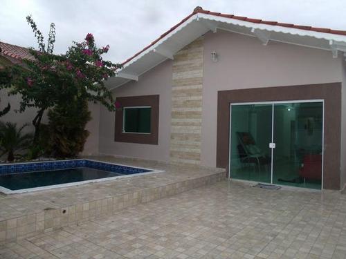 Casa Em Balneário Três Marias, Peruíbe/sp De 230m² 3 Quartos À Venda Por R$ 450.000,00 - Ca897390