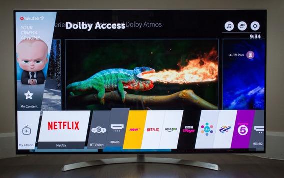 Tv Oled55b7p LG 4k Uhd Dolby Atmos - Vitrine