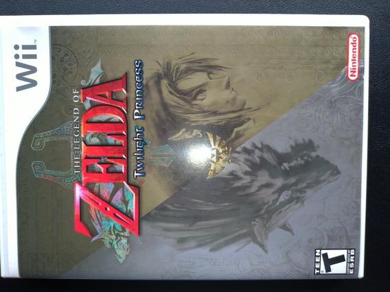 The Legend Of Zelda Twilight Princess ¬ Original Para Wii