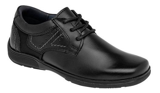 Zapatos Escolares Marca Yuyin De Piel 29014 Dog