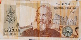 Billetes De Colección. Italia Y Costa Rica.