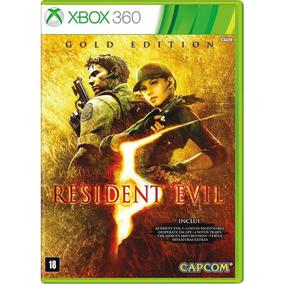 Resident Evil 5 Gold Edition - Midia Fisica Lacrado Xbox 360