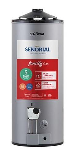 Imagen 1 de 2 de Termotanque Señorial Family Gas 50 Litros