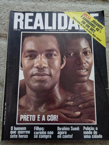 Revista Realidade Nº 64 -de 1971 . Politica Prop. Sumario