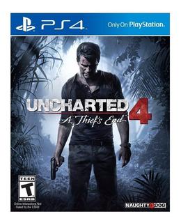 Juego Ps4 Uncharted 4 - Original Fisico