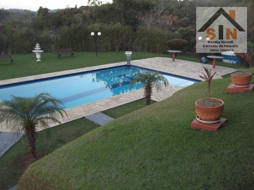 Chácara Com 4 Dormitórios À Venda, 12000 M² Por R$ 1.499.000,00 - Santa Isabel - Santa Isabel/sp - Ch0001