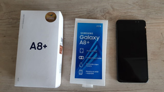 Celular Samsung A8 Plus 4gb+64gbram (nfc) Nota Fiscal