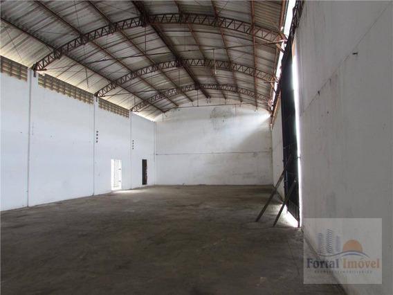 Galpão Para Alugar, 350 M² Por R$ 9.000,00/mês - Messejana - Fortaleza/ce - Ga0010