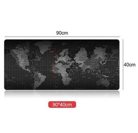 Mousepad Gamer Mapa Mundo Extended