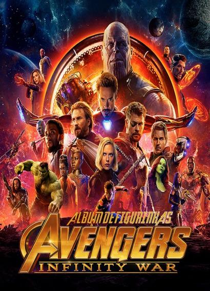 Álbum De Figuras Avengers