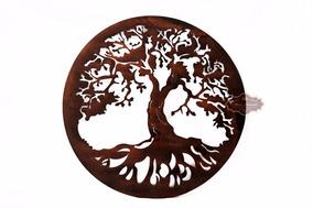 Mandala 60 Cm - Árvore Da Vida - Frete Grátis