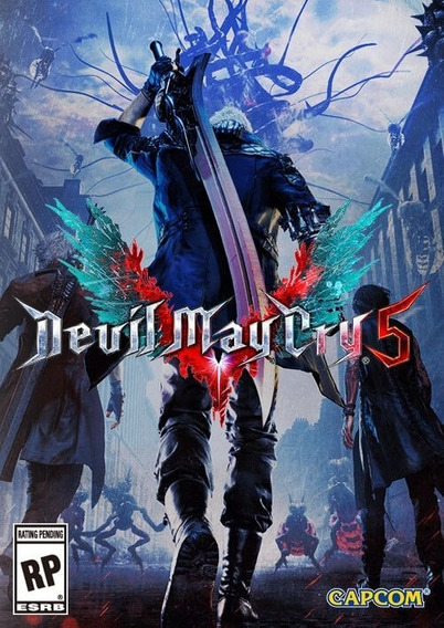 Devil May Cry 5 + 2 Jogos (mídia Física) Pc Frete Gratis