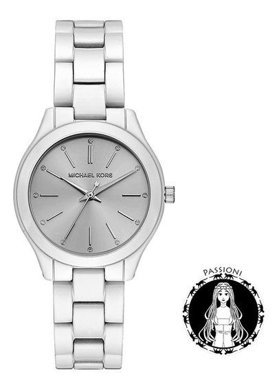 Relógio Michael Kors Slim Runway Mk3908/1kn C/ Nf Garantia U