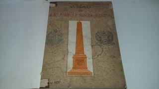 Livro As Divisas De São Paulo E Minas Gerais 1937