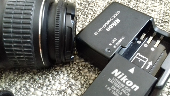 Nikon D-40 (enviando Normalmente)