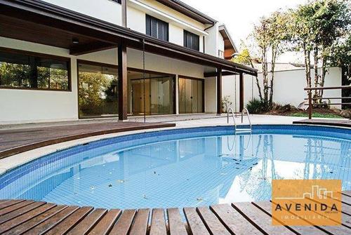 Imagem 1 de 17 de Casa Com 4 Dormitórios, 554 M² - Venda Por R$ 2.900.000,00 Ou Aluguel Por R$ 11.000,00 - Barão Geraldo - Campinas/sp - Ca0035