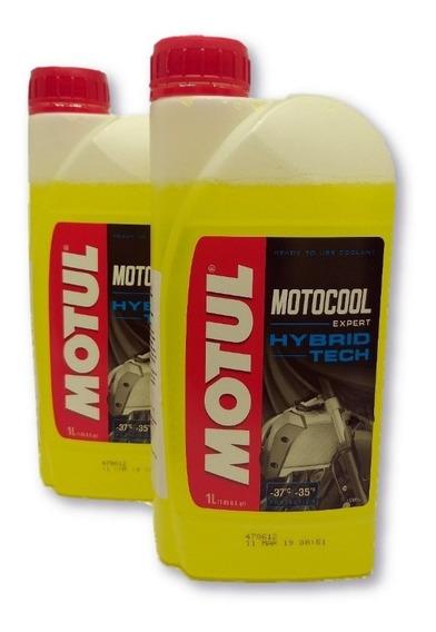 2 Litros Liquido Arrefecimento Moto Motul Motocool Expert