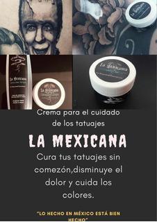 Crema Para Curar Tatuajes 60g( Disminuye La C O M E Z Ó N )