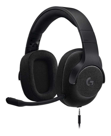 Headset Gamer Logitech G433 7.1 Com Fio Ps4 Xone Switch Pc
