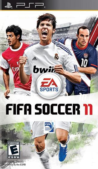 Jogo Fifa 11 Playstation Psp Original Usado Frete Grátis