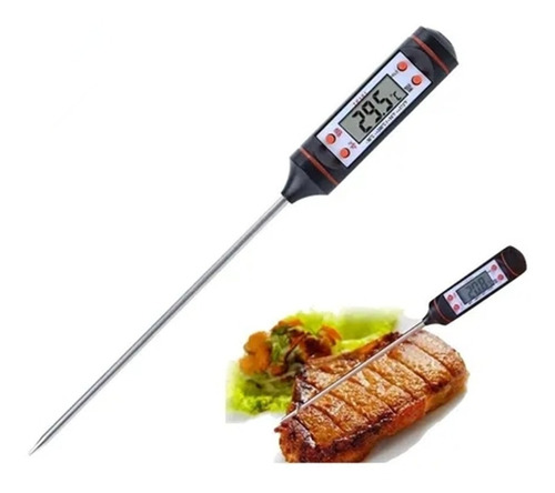 Termometro Digital Cocina Carne Reposteria Chcolate Comida