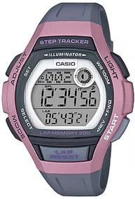 Relógio Casio Feminino Lap Memory60 Standard Lws-2000h-4avdf