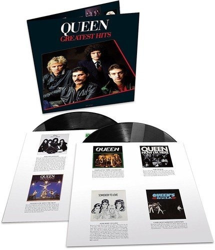 Lp Queen Greatest Hits 1 - Duplo 180 G Remaster Abbey Road
