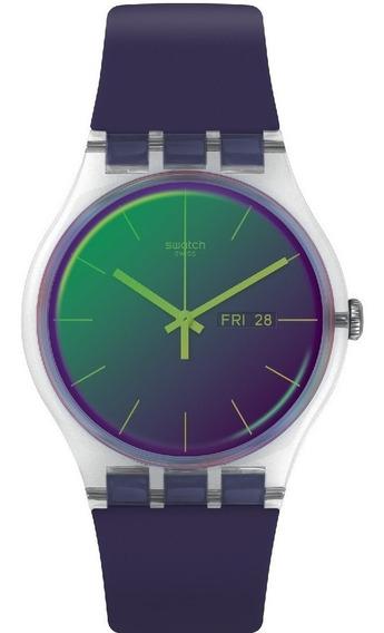 Relógio Swatch Polapurple - Suok712