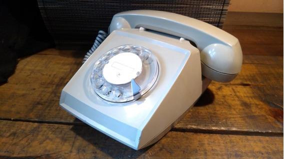 Teléfono Antiguo De Disco Indetel Funcionando