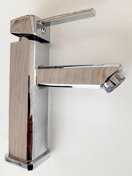 Mezcladora Cromo Llave Monomando Para Ovalin Lavabo Baño