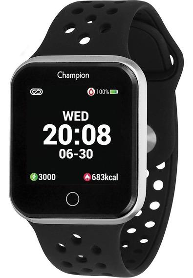 Relógio Champion Smartwatch Ch50006t Preto