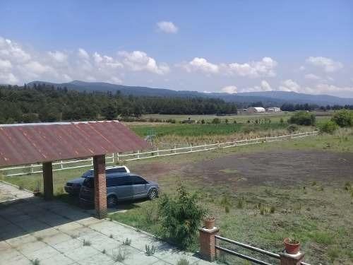 Vendo Terreno Con Restaurante, Lado Del Foro Ajusco. Tlalpan