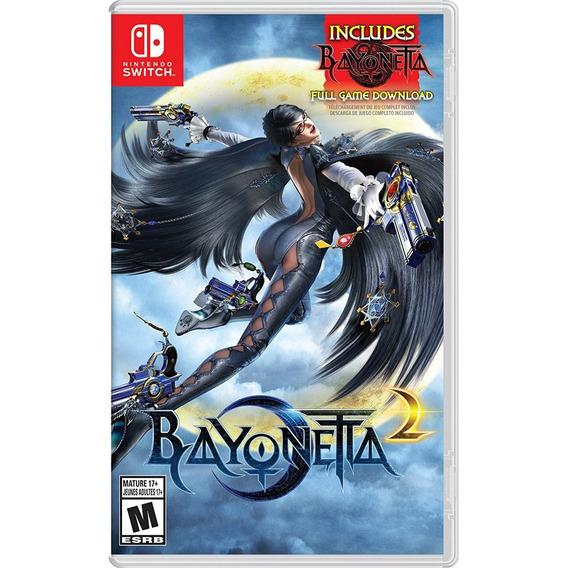 Bayonetta 2 + Bayonetta 1 Switch Mídia Física Lacrado