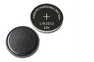 Pila Cr 2032 Recargable 3.6 V