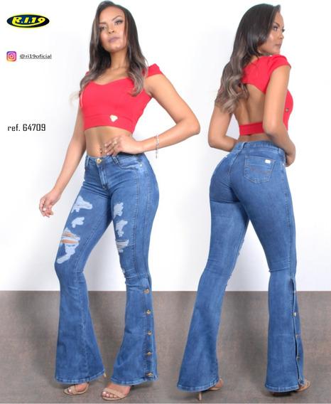 Calça Jeans Flare Ref.:64709