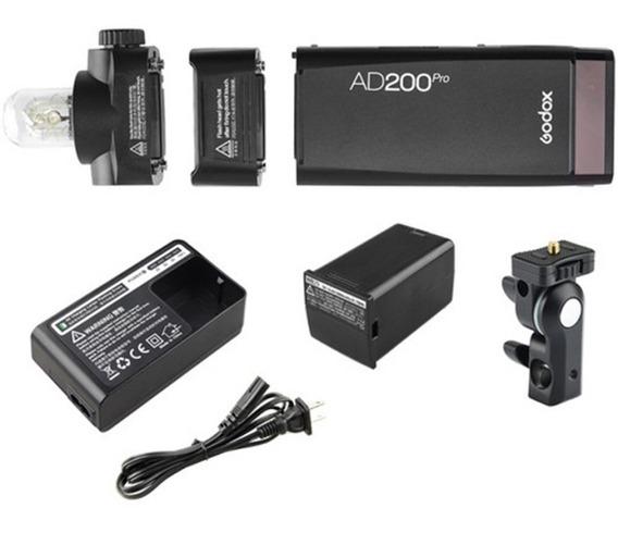 Flash Godox Pocket Ad200 Pro Ttl Pocket A Bateria