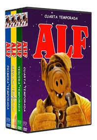 Alf Serie Retro Completa 4 Temporadas Español Latino Dvd