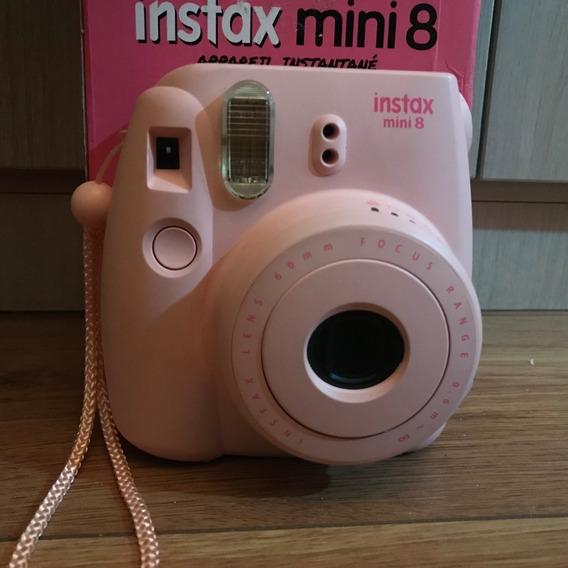 Câmera Instax Mini 8 (rosa) + 40 Filmes