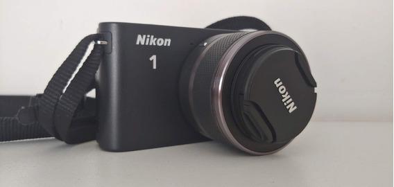 Câmera Digital - Nikon J1 Com Kit De Lentes