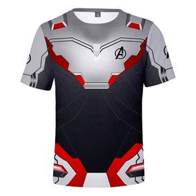 Playera Gym Camisa Avengers Endgame Quantum Vengadores