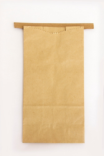 Imagen 1 de 1 de Bolsa De Papel Kraft Para Envasar Café. 500 Gr. Cien Piezas