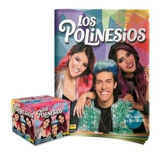 Álbum Los Polinesios + Caja De Estampas Panini Nuevo