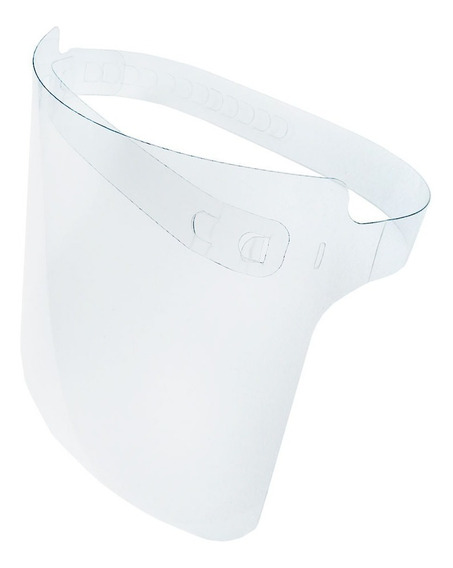 100 Máscaras Careta Protectora Facial Pvc Cubreboca Tapaboca