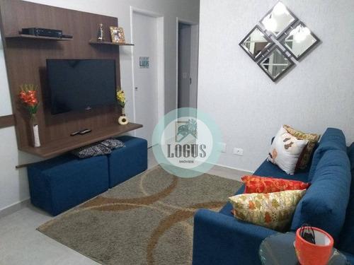 Imagem 1 de 8 de Apartamento Com 2 Dormitórios À Venda, 47 M² Por R$ 245.000,00 - Paulicéia - São Bernardo Do Campo/sp - Ap1620