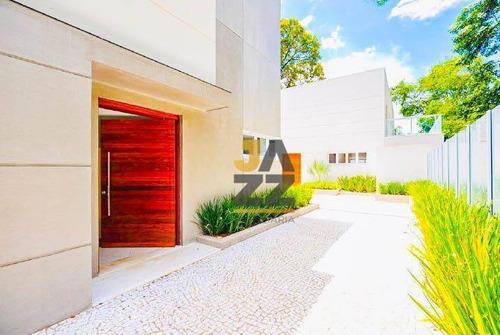Imagem 1 de 29 de Lindo Sobrado Alto Padrão Na Granja Julieta, O Apartamento Com 400 M². - Ca13307